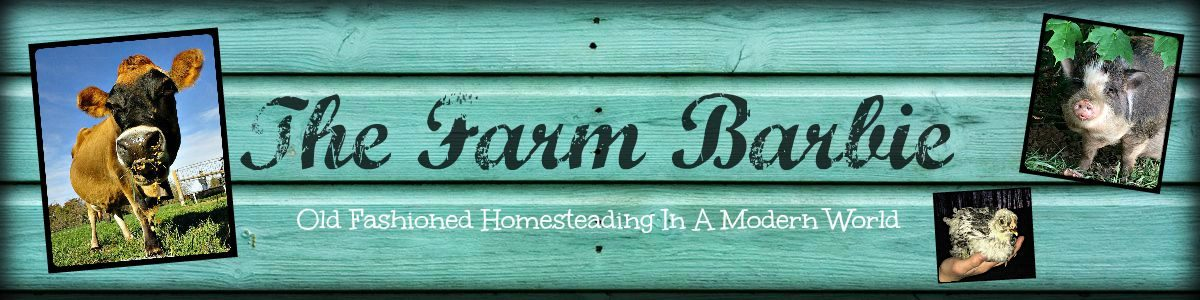 The Farm Barbie – Old Fashioned Homesteading in a Modern World