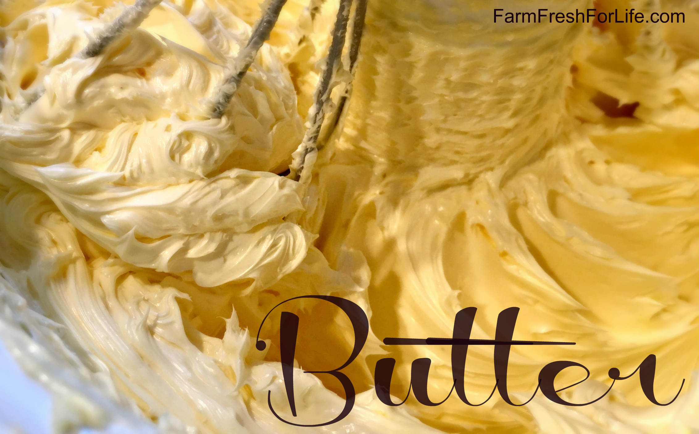 Butter with Fresh Cream – Farm Fresh