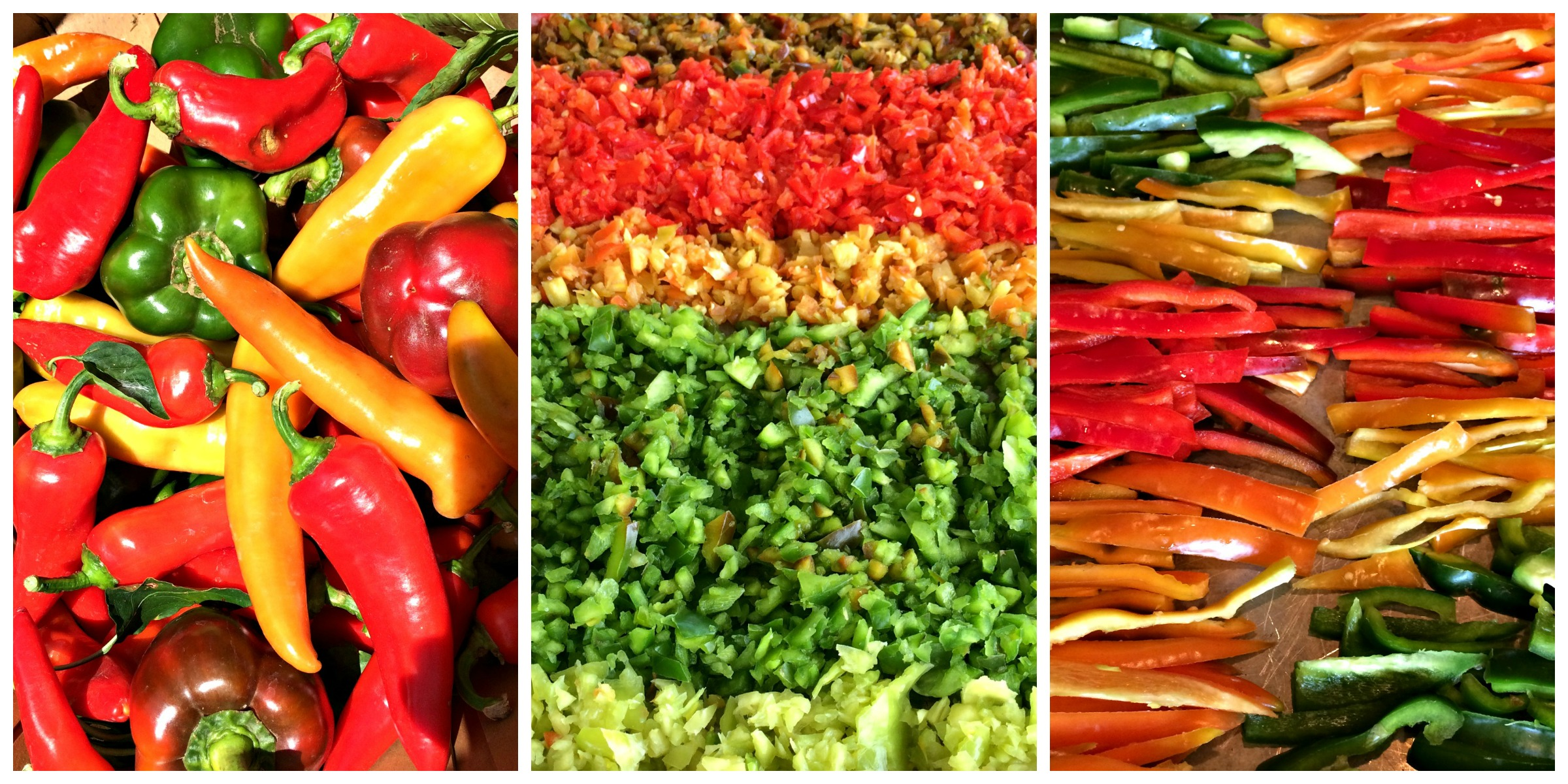 pepper Collage