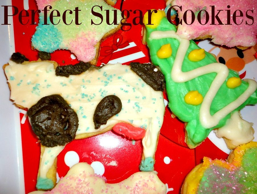 Christmas Cutout Cookies.Best Cut Out Sugar Cookies