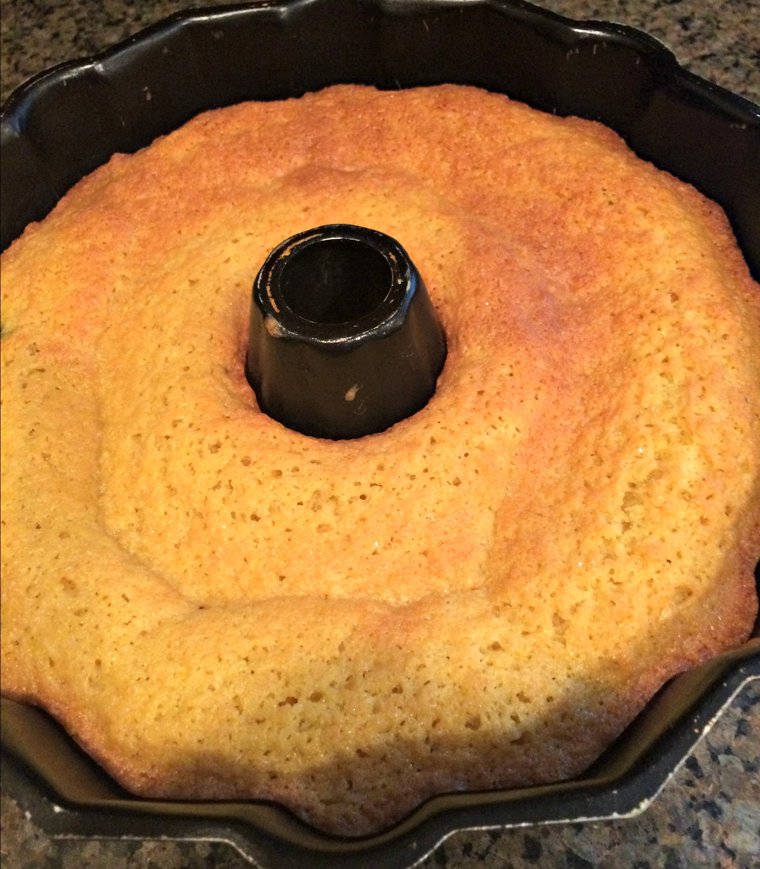 How to Get a Bundt Cake Out of the Pan