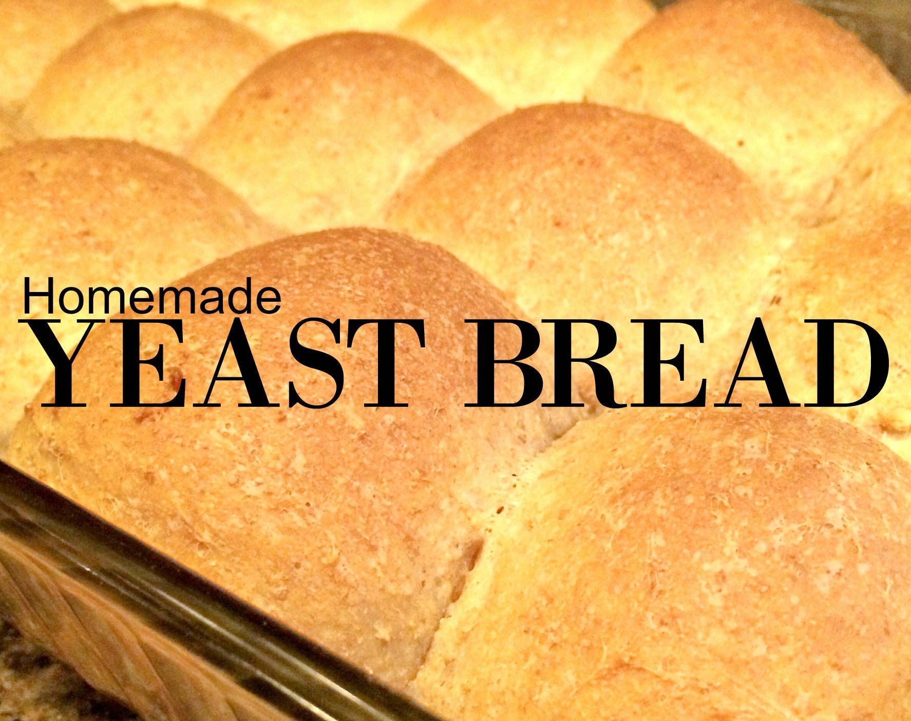 Basic Yeast Dough Slightly Sweet Homemade Easy Farm Fresh