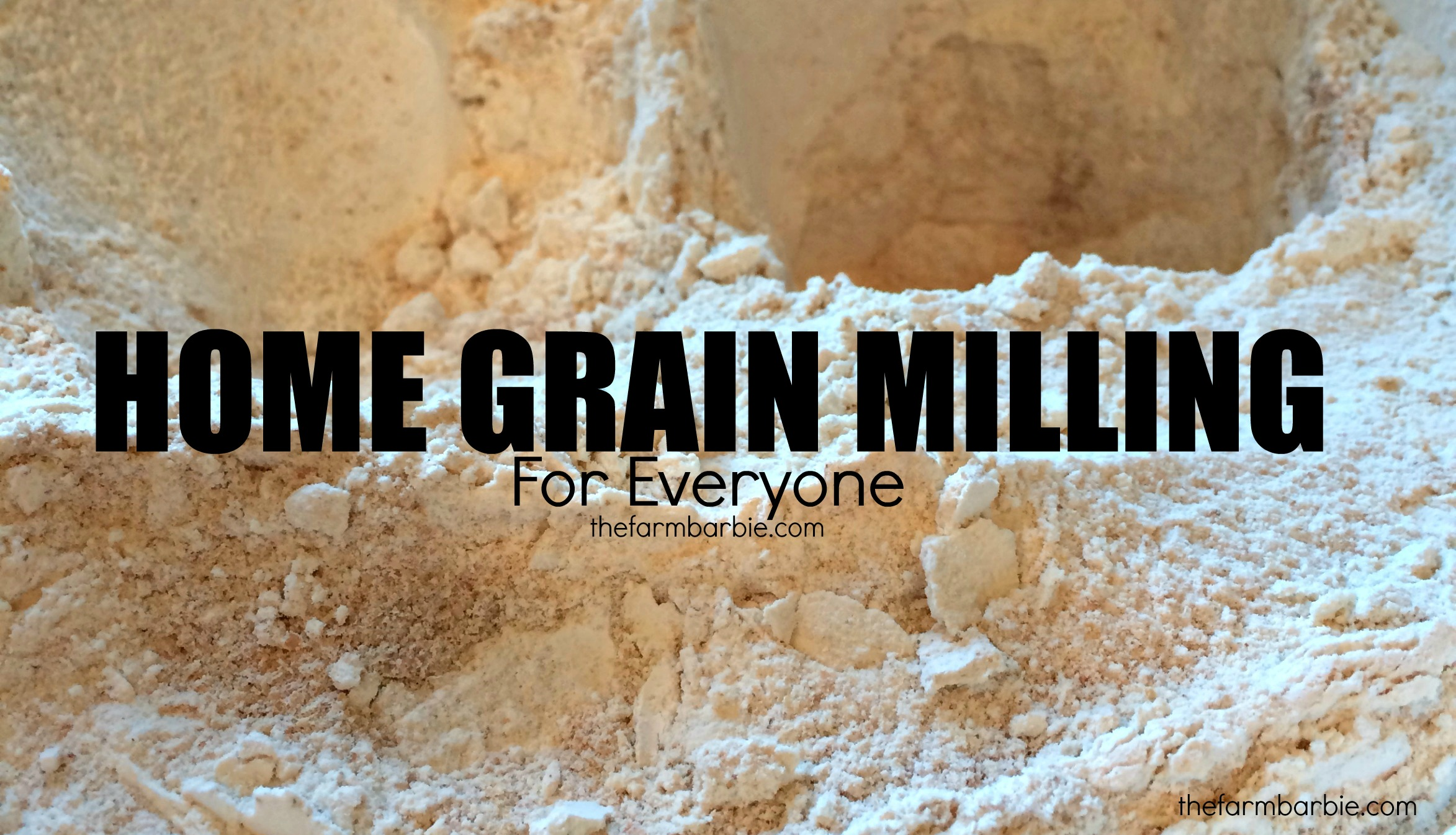 How to Grind Flour on the Cheap
