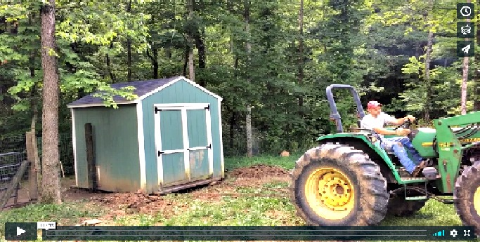 How to Move a Chicken Coop or Small Building – Video (Premium)