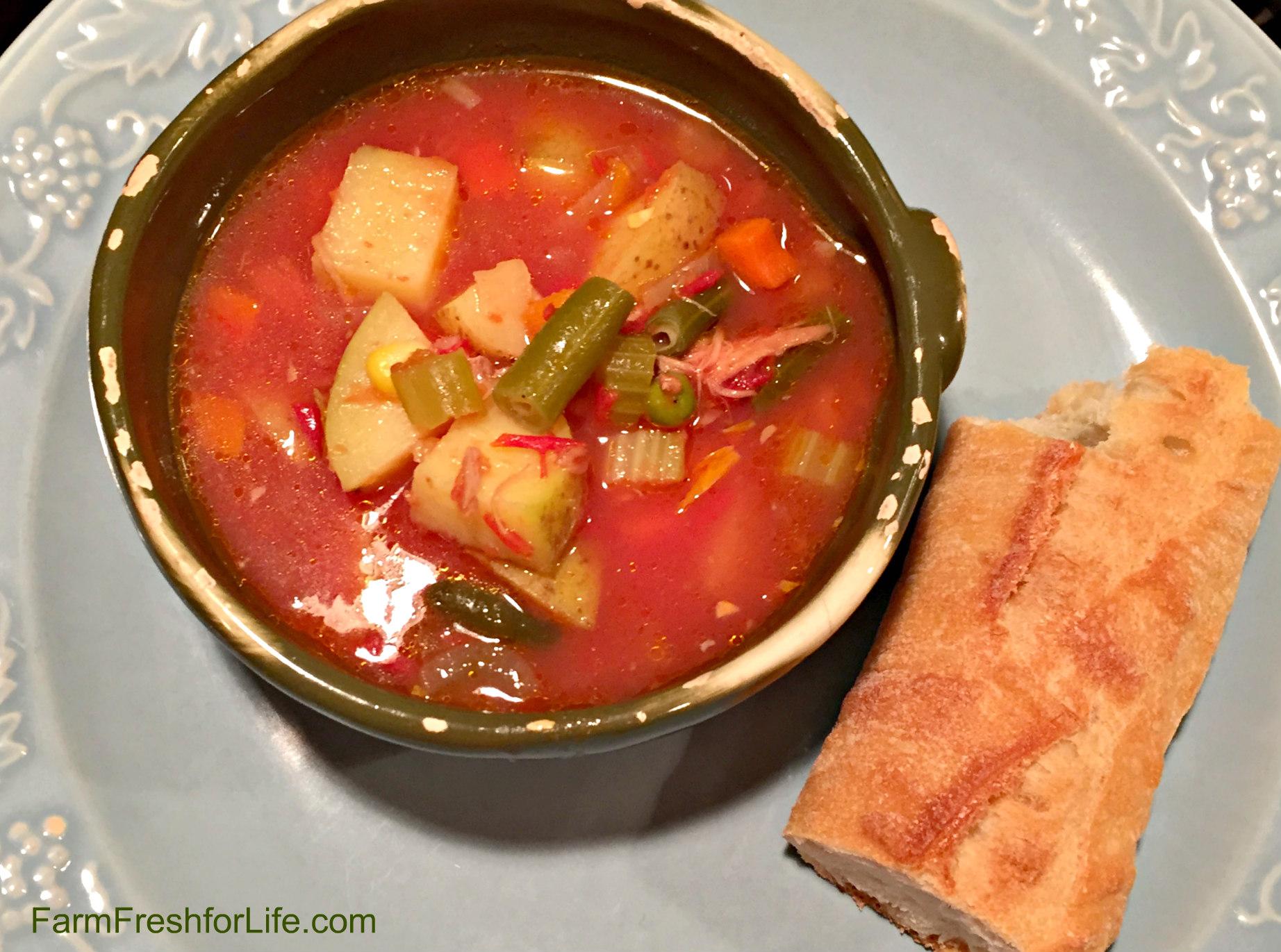 Beef Vegetable Soup (Premium)