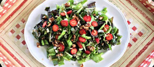 Strawberry Vinaigrette Salad (Premium)
